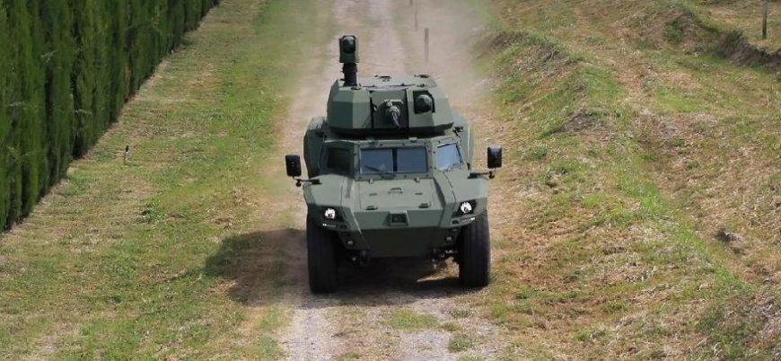 Türkiye'nin ilk elektrikli zırhlısı Akrep II arazi testinde