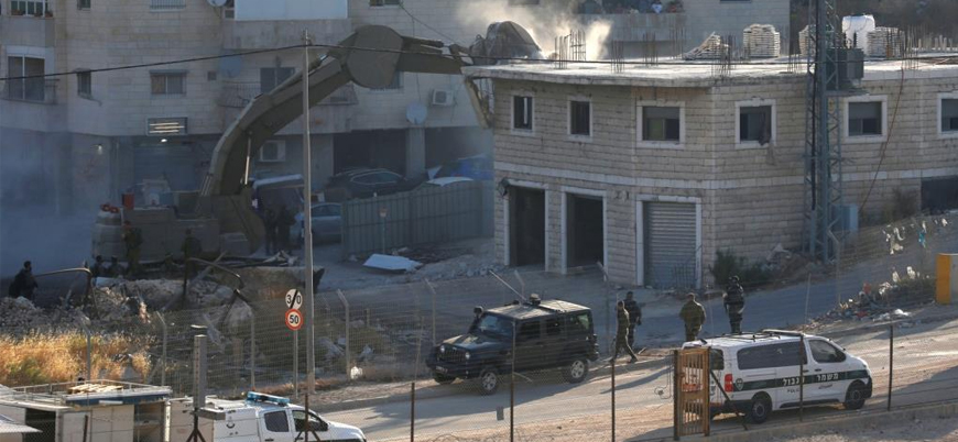 İsrail Kudüs'te Filistinlilerin evlerini yıkmaya başladı