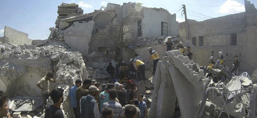 Rusya ve Esed rejimi İdlib'de sivilleri vurdu: Çoğu çocuk 18 ölü