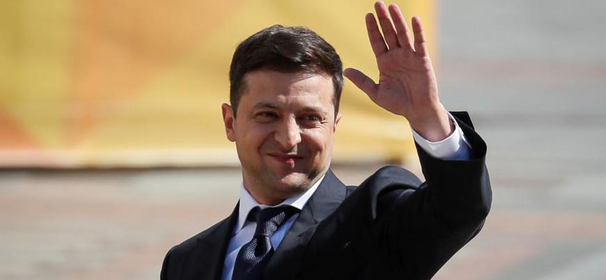 Ukrayna'daki genel seçimlerin galibi Devlet Başkanı Zelenskiy
