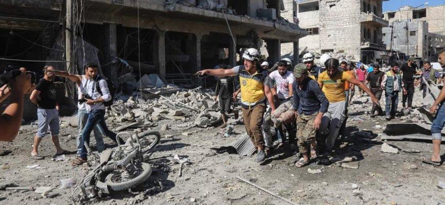 Rusya İdlib'de katliam yaptı: 30 ölü