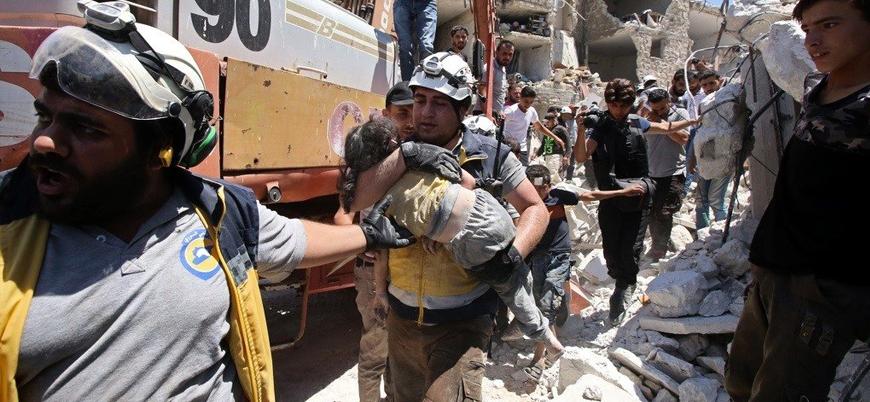 Rusya ve Esed rejiminden İdlib'de sivil katliamı: 55 ölü