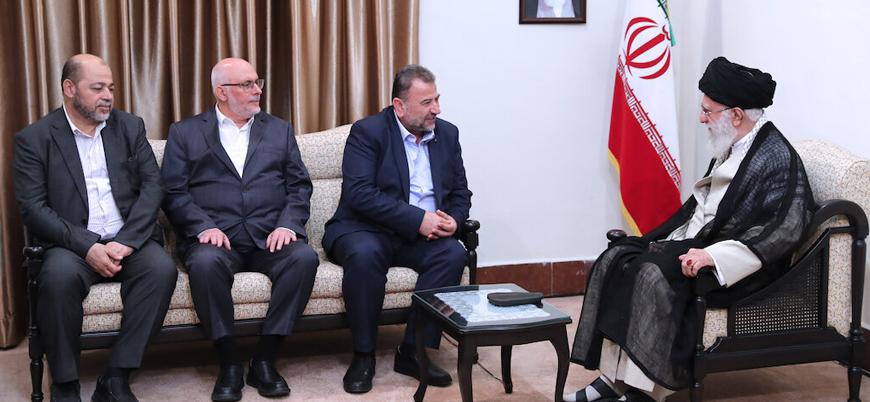 Hamas'ın iki numarası Salih Aruri: İran'ın ilk savunma hattı bizleriz