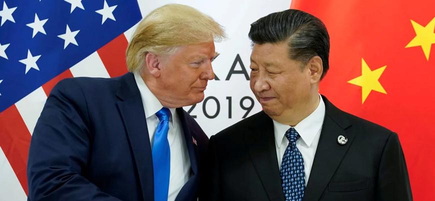 Trump'tan Çin'e Hong Kong övgüsü