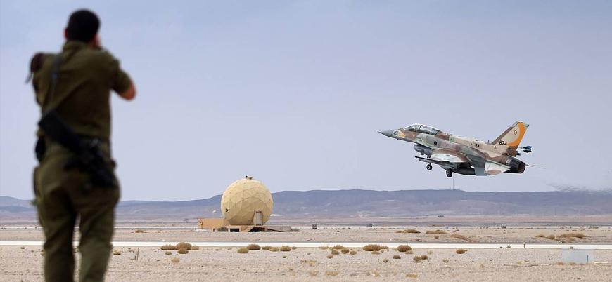 İsrail Suriye'de İran destekli güçlere hava saldırısı düzenledi