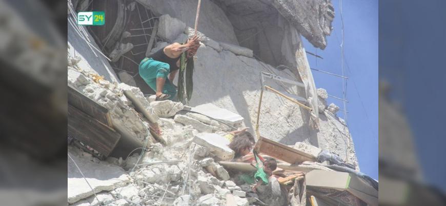 Rusya ve Esed rejiminden İdlib'de yeni bir katliam: 19 ölü