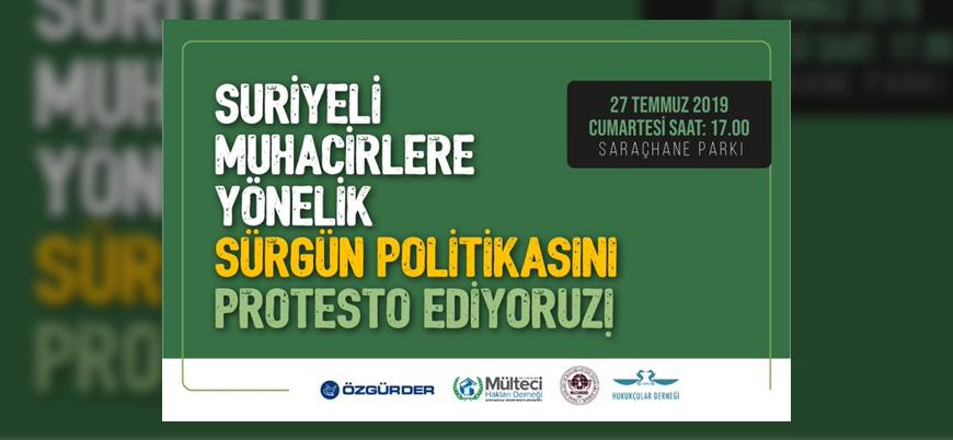 İstanbul'da STK'lardan Suriyeli sığınmacılara destek