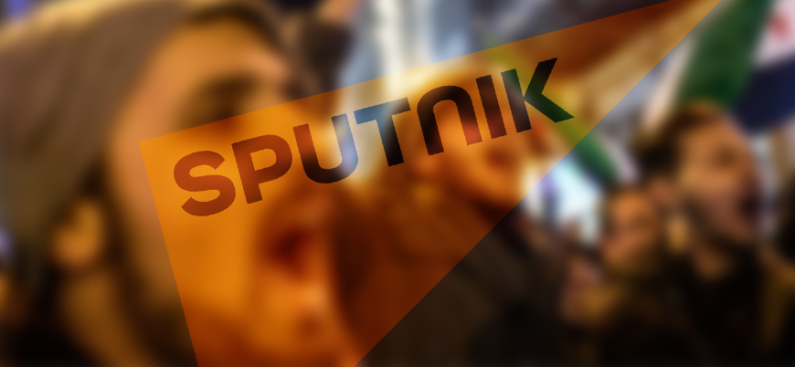 Sputnik'in Suriyeli sığınmacılara karşı çarpıtma politikası sürüyor