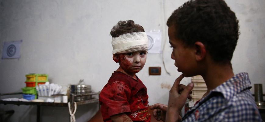 Ortadoğu'daki savaşlarda geçtiğimiz yıl 8 bini aşkın çocuk öldü ve yaralandı