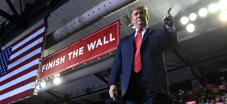 Trump 'muradına erdi': Meksika duvarına yeşil ışık