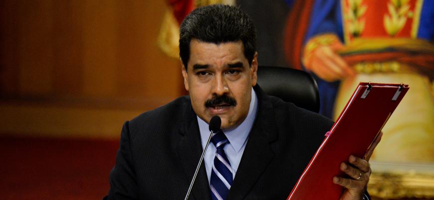 Maduro'dan Rusya ve Türkiye'ye teşekkür