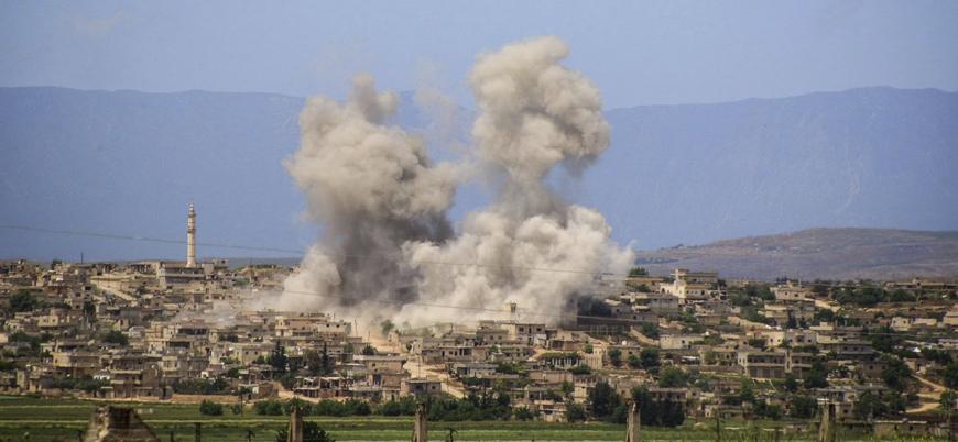 """""""Rusya ve Esed rejimi İdlib'de hastaneleri, okulları, pazar yerlerini vuruyor"""""""