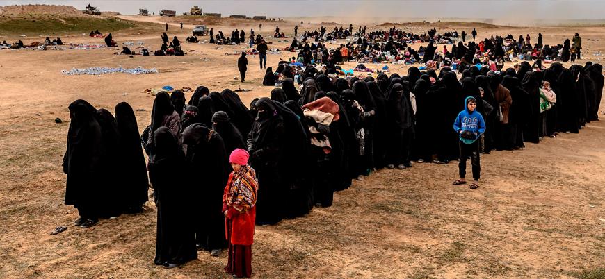 """""""IŞİD bahanesiyle kamplarda tutulan 32 bin Iraklı Suriye'den Irak'a iade edilecek"""""""