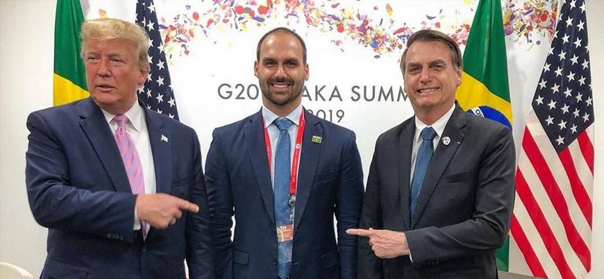 Brezilya Devlet Başkanı oğlunu ABD Büyükelçisi yapıyor