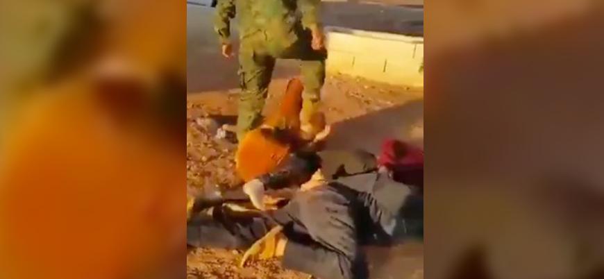 Suriye'de ABD destekli YPG/PKK güçlerinden sivillere işkence