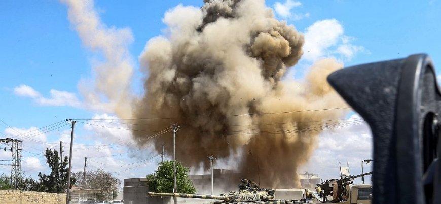 Hafter güçleri Trablus'un güneyinde bir hastaneyi vurdu: 5 ölü