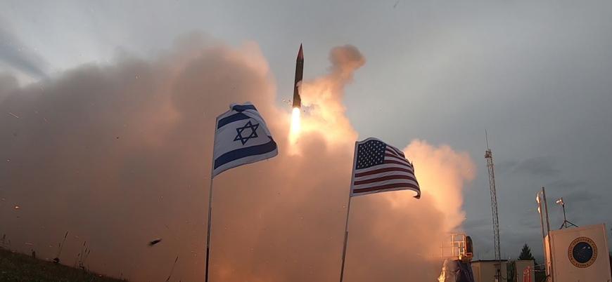 ABD-İsrail ortak üretimi 'Arrow 3' hava savunma sistemi test edildi