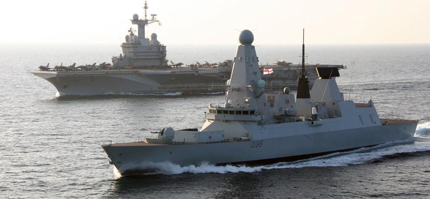 İngiltere bir savaş gemisini daha Körfez'e gönderdi