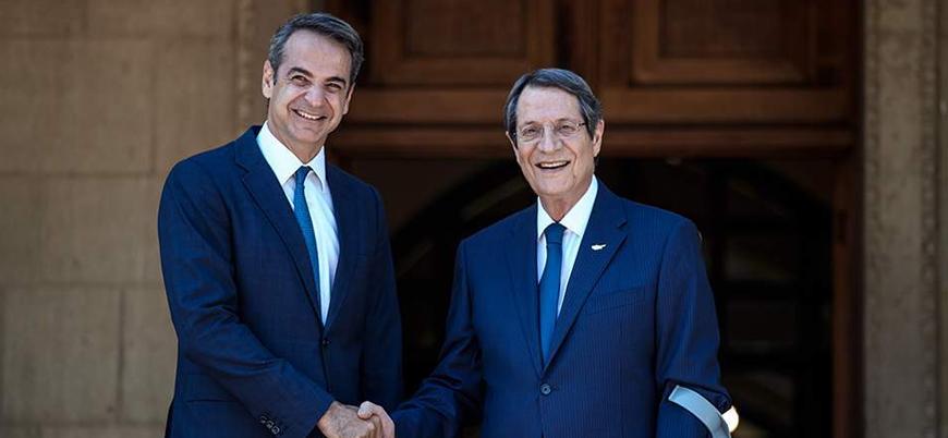 Yunanistan'ın yeni Başbakanı ilk yurt dışı ziyaretini Güney Kıbrıs'a yaptı