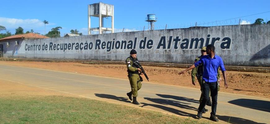 Brezilya'da cezaevinde çıkan isyanda en az 57 kişi öldü
