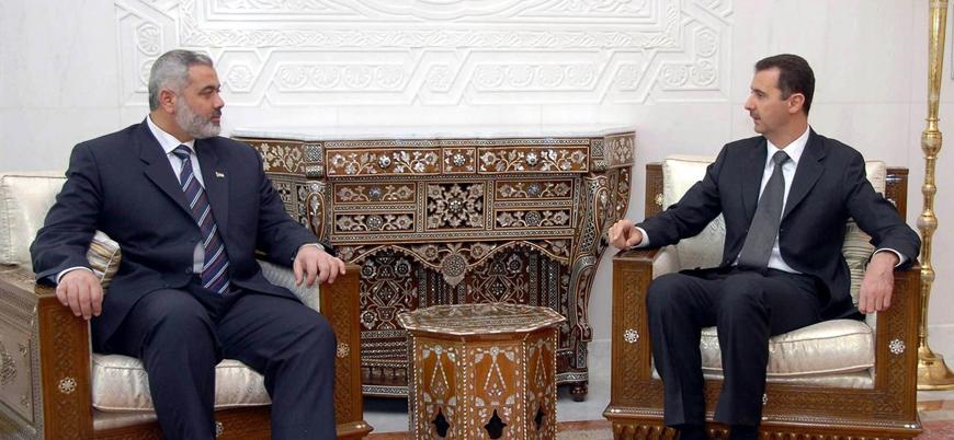 """""""Hamas Esed rejimiyle ilişkilerini düzeltiyor"""""""