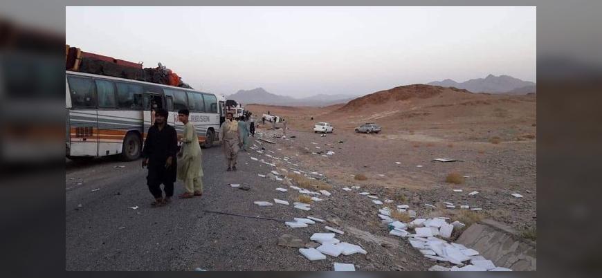 Afganistan'da yolcu otobüsünün geçişi sırasında patlama: 34 ölü