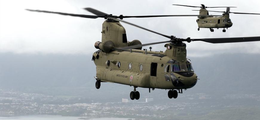 Türkiye CH-47F Chinook helikopterleri teslim aldı