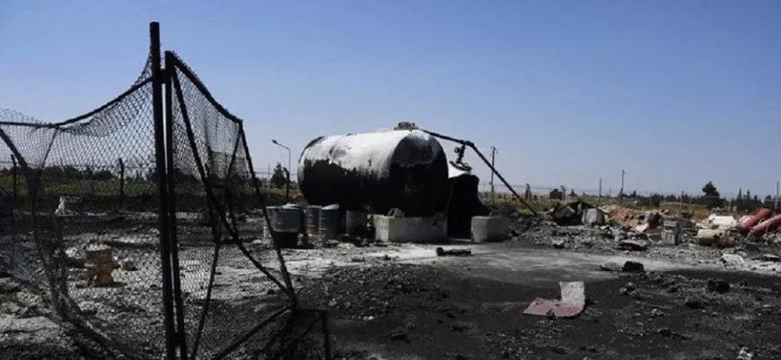 Suriye'de Esed rejimine ait cephanelikte patlama: 31 ölü