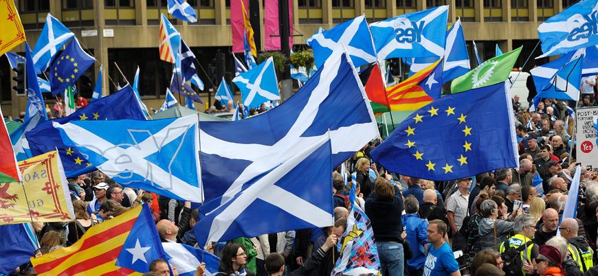 İskoçlar Birleşik Krallık'tan bağımsız olmak istiyor