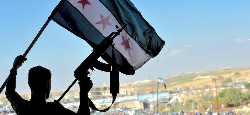 Suriyeli muhaliflerden Türkiye'nin operasyonuna destek