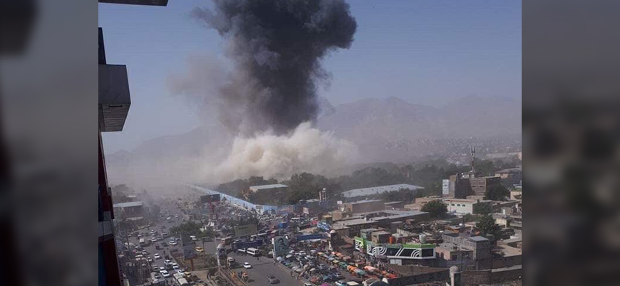 Afganistan'ın başkenti Kabil'de polis merkezine bombalı saldırı: 60 ölü