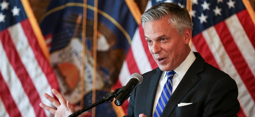 ABD'nin Moskova Büyükelçisi Huntsman istifa etti