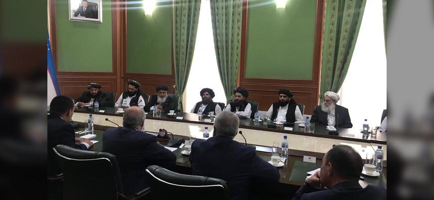 Taliban heyetinden Özbekistan'a resmi ziyaret