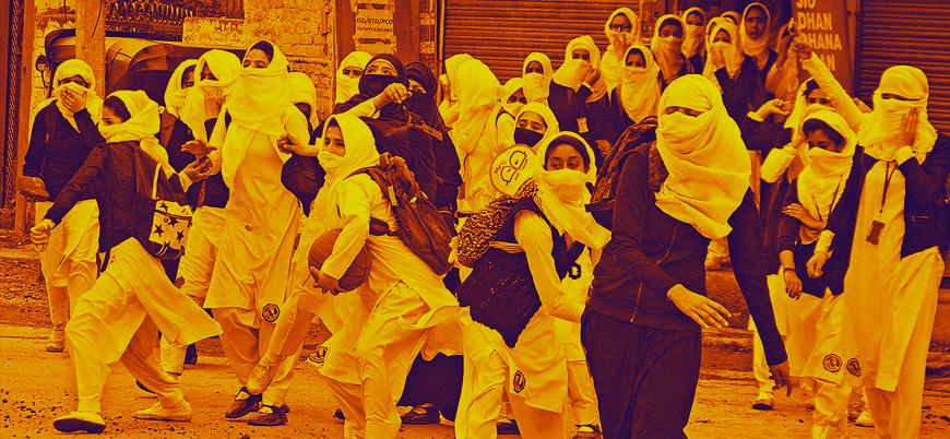 Keşmir'de Müslüman kadınlar Hinduların sistematik tecavüz tehdidiyle karşı karşıya