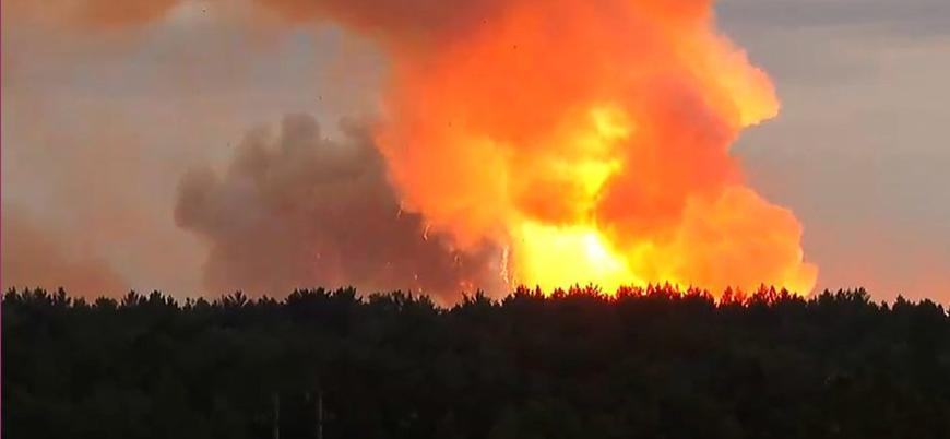 Rusya'da askeri test sahasında patlama: 2 ölü 7 yaralı