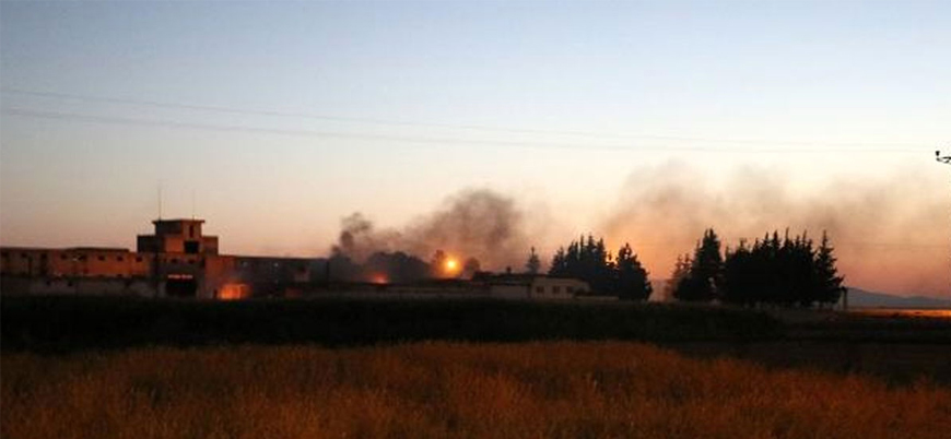 Hatay'ın Reyhanlı ilçesinde askeri mühimmat deposunda patlama