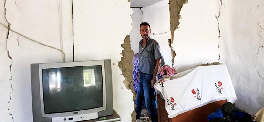 Depremin vurduğu Denizli'de 976 bina hasarlı