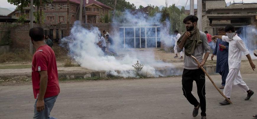 Keşmir'de Hindistan'ın ilhak kararının ardından ilk protestolar