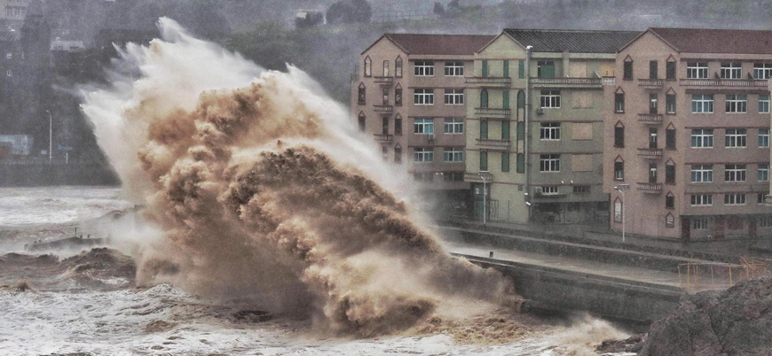 Lekima tayfunu Çin'i vurdu: En az 18 ölü