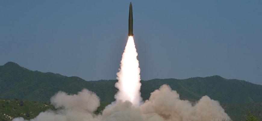 Kuzey Kore'den son iki haftadaki beşinci füze denemesi