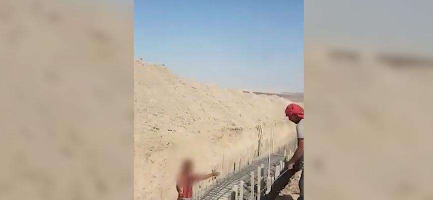 ABD destekli YPG/PKK Türkiye sınırına tünel inşa ediyor