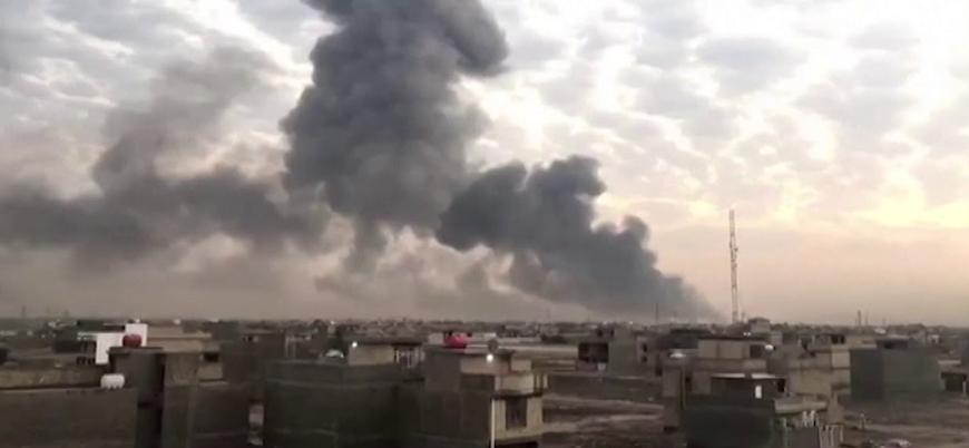 Irak'ın başkenti Bağdat'ta Haşdi Şabi'ye ait cephanelikte patlama