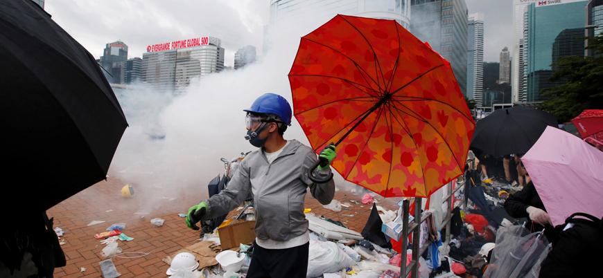 Çin'den Batı'ya Hong Kong uyarısı: İç işlerimize karışmayın