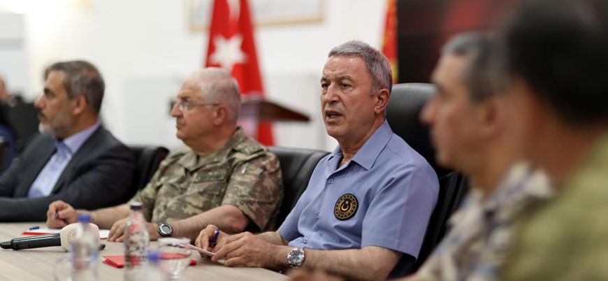 'Güvenli bölge': Bakan Akar ABD ile ortak harekat takvimini açıkladı