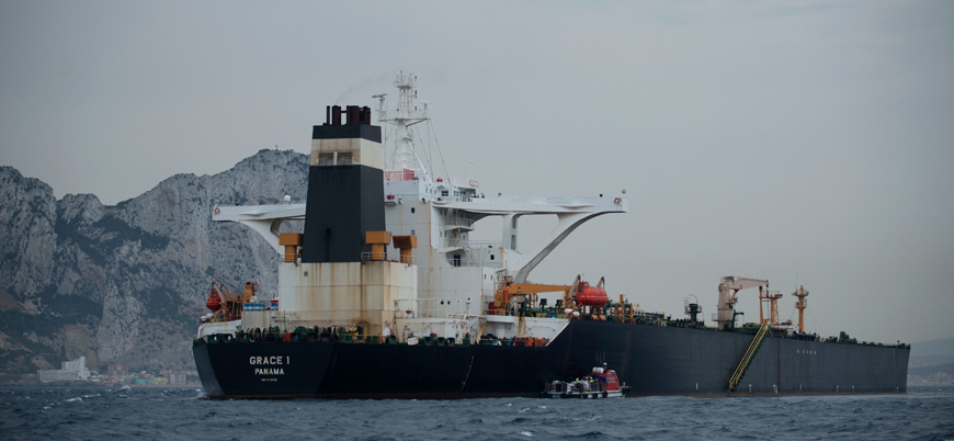 ABD'den İran'a ait 'Grace 1' tankerini el koyma kararı