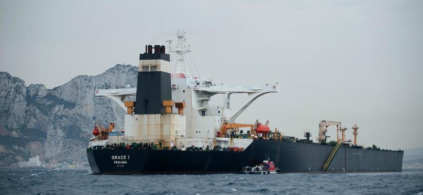 Alıkonulan İran tankeri Cebelitarık'tan ayrılıyor