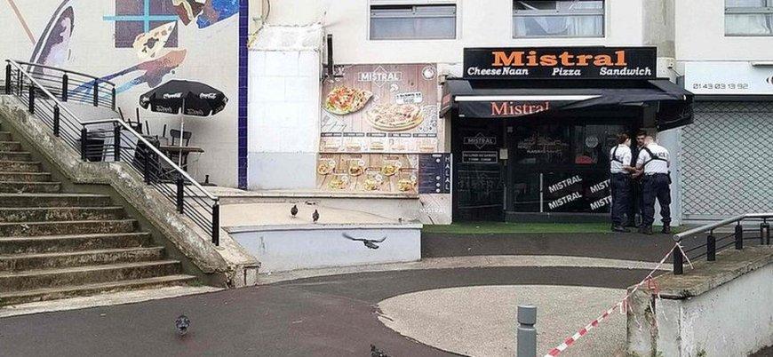 Paris'te 'yavaş servis' cinayeti: Geç gelen garsonu vurarak öldürdü