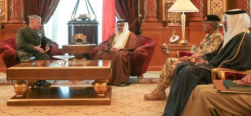 Bahreyn'den ABD'nin Körfez'deki misyonuna destek
