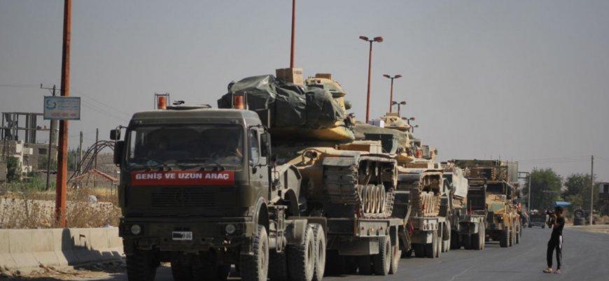 TSK'dan İdlib'e tank ve ağır silah sevkiyatı