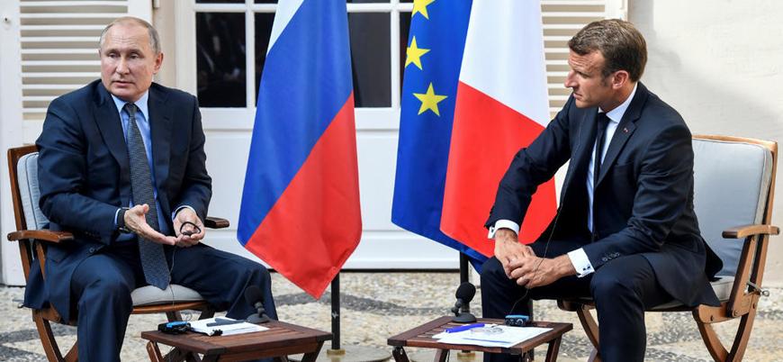 Macron-Putin görüşmesine 'İdlib gerilimi' damga vurdu